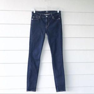7 For All Mankind Jeans - 7 for All Mankind The Skinny Jeans Rinsed Indigo